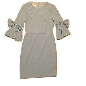 Donna Morgan Women's 3/4 Bell Sleeve Dress